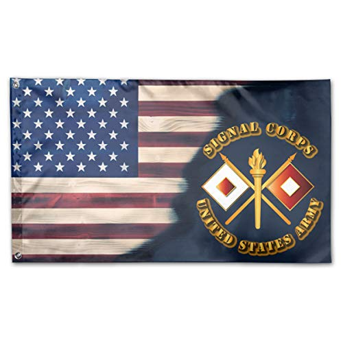 UNSTARFLAG American Flag by U.S. Veterans Owned US Army Signal Corps Flag 3x5 Ft