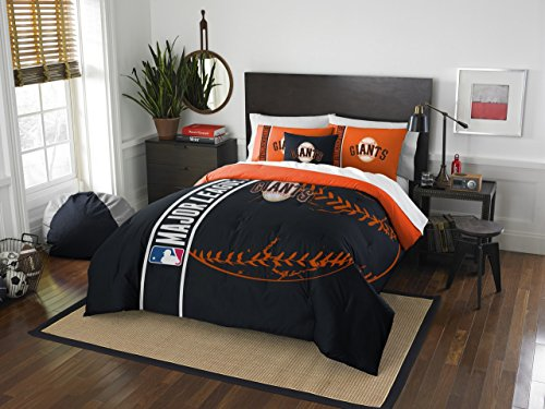 Mlb Comforter - The Northwest Co mpany MLB San Francisco Giants Full 3-piece Comforter Set