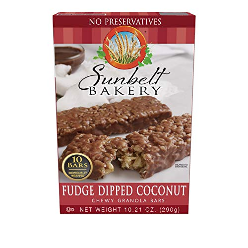 (Fudge-Dipped Coconut Chewy Granola Bars, 1.1 oz Bars, 50 Count )