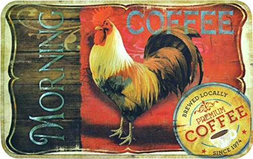 Anti Fatigue Kitchen Morning Rooster Coffee