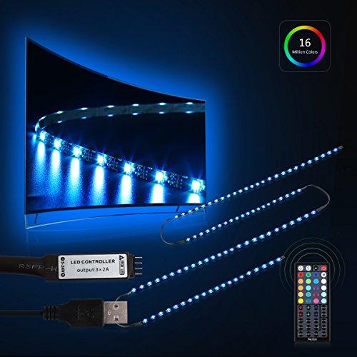 Tv Backlight Nexlux Led Tv Lights Usb Kit 5050 Rgb