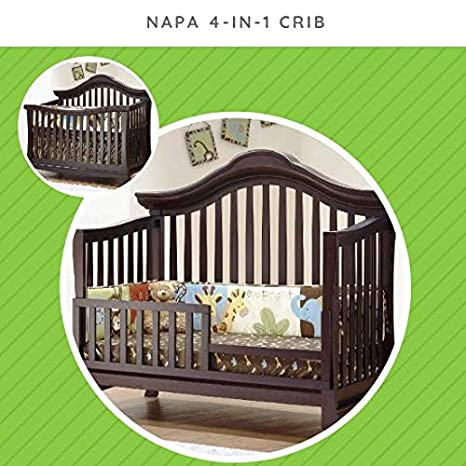 Amazon Com Toddler Bed Safety Guard Rail Conversion Kit For Select Sorelle Cribs Fits Emerson Finley Jaden Lee Modesto Monterey Napa Paxton Primo Providence Verona Vista Elite Cribs Vintage Frost