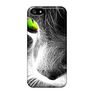 Durable Case For The Iphone 5/5s- Eco-friendly Retail Packaging(cat Eye)