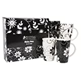 Maxwell & Williams Daisy May 13-oz. Mug - Set of 4 - Gift Boxed
