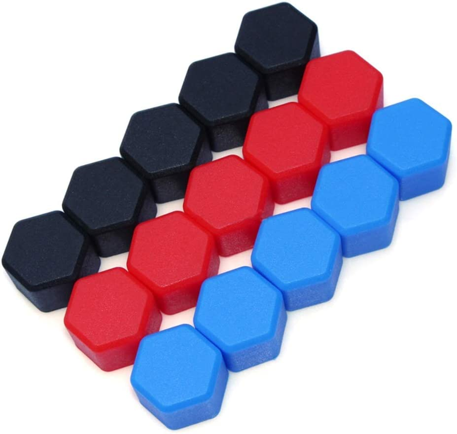 19mm 20pcs Car Wheels Screw Cover Silicone Material Exterior Products for Suzuki SX4 Jimmy Swift S-Cross Grand Vitara Color Name : Red