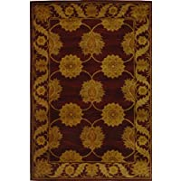 Safavieh Handmade Heritage Timeless Traditional Red Wool Rug (5 x 8)