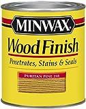 Minwax 221804444 Wood Finish Penetrating Interior Wood Stain, 1/2 pint, Puritan Pine