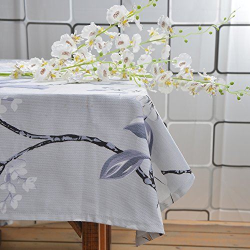 96fcf82a79c43 BININBOX Rural Style Cotton Floral Printed Various Size Tablecloth (55 by  55-inch(140x140cm))