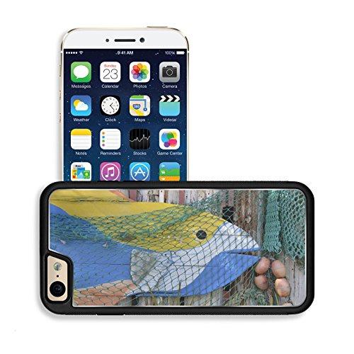 luxlady-premium-apple-iphone-6-iphone-6s-aluminium-snap-case-artsy-wood-fish-on-old-wood-siding-deco