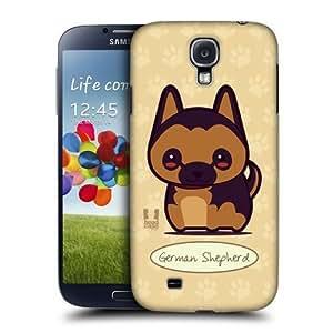 AIYAYA Samsung Case Designs German Shepherd Wonder Dogs Protective Snap-on Hard Back Case Cover for Samsung Galaxy S4 I9500