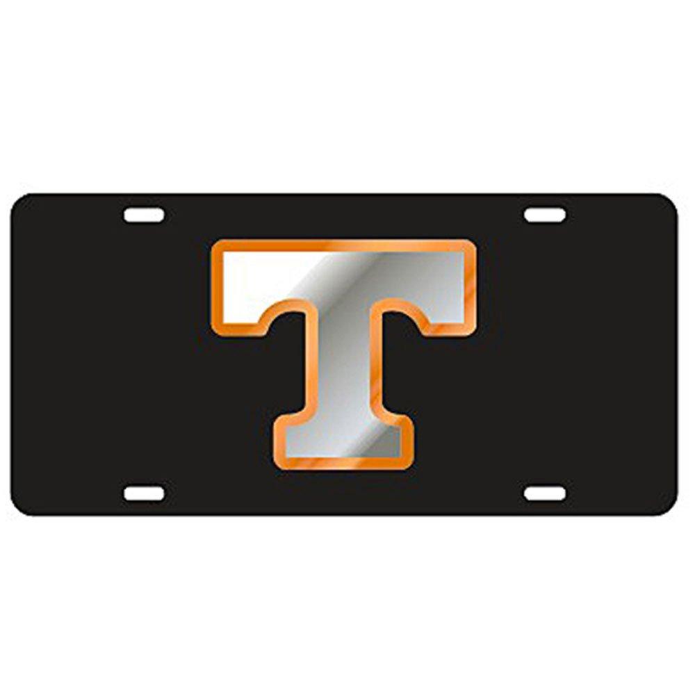 Tennessee Volunteers Black Laser Cut License Plate Craftique