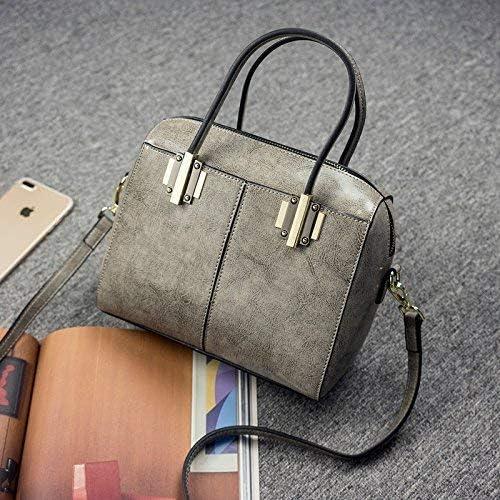 BBA Sac à bandoulière Sacs à main Mode Messenger Bag Ladies Femme Sac femmes sac à main'S Rétro simple sac à bandoulière,Gris