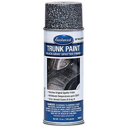 Eastwood Acrylic Trunk Paint Gray Black Lacquer Paint Aerosol 12 oz