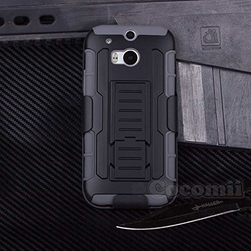HTC One M8 Case, Cocomii® [HEAVY DUTY] Robot Case *NEW* [ULTRA FUTURE ARMOR] Premium Belt Clip Holster Kickstand (Htc One M8 Premium Case)