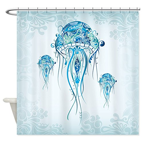 CafePress Jellyfish Shower Curtain Decorative