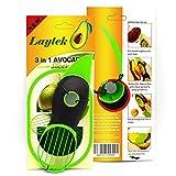 3-in-1 Avocado Slicer, Family Star SH, Green