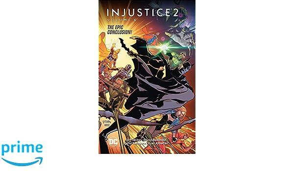 Amazon com: Injustice 2 Vol  6 (9781401292270): Tom Taylor