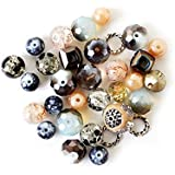 Jesse James Beads 5916 Design Elements Truffles, Multicolored