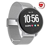 YoYoFit Smart Fitness Watch with Heart Rate Monitor, Waterproof Fitness Activity Tracker Step
