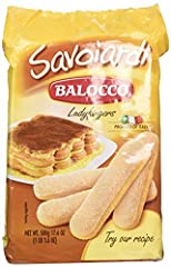 Known in Italy as Savoiardi, ladyfingers are a sweet, fairly dry, finger-shaped sponge cakes. Ladyfingers are often used in making the classic Italian Tiramisu, or enjoying with a cup of your favorite coffee or tea.