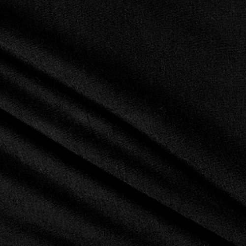 Lavitex, Inc Rayon Spandex Jersey Knit Solid Fabric Black Fabric by the Yard
