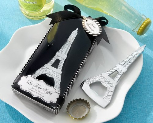 Kate Aspen La Tour Eiffel Shaped Bottle Opener, Chrome for sale  Delivered anywhere in USA