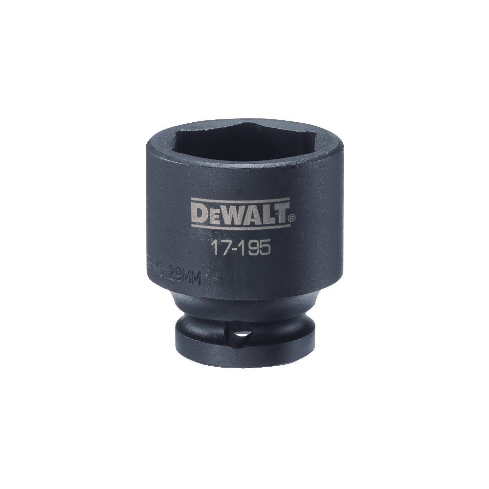 DEWALT 1/2'' Drive Impact Socket 6PT 29MM