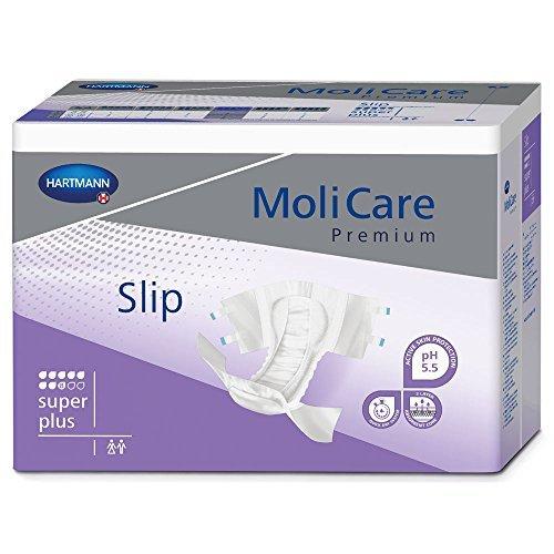 MoliCare Premium Slip Briefs, Super Plus, Large, Pack/30 by Molicare