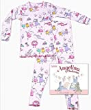 Books to Bed Angelina Ballerina Pajama & Book Set