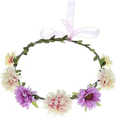 Ladies//Girls Pink 3 In 1 Hair Flower On Clip//Elastic Wedding Bridesmaid Partys