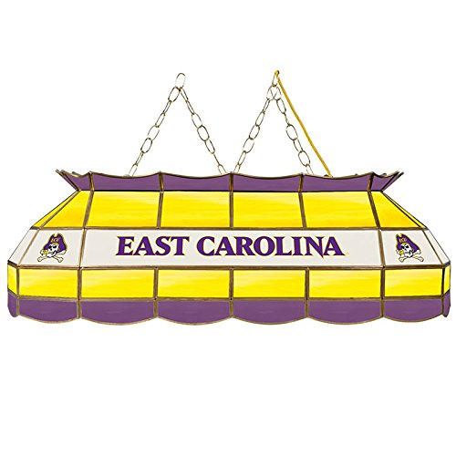 Trademark Global East Carolina University 40 Inch Handmade Stained Glass Lamp by Trademark Global