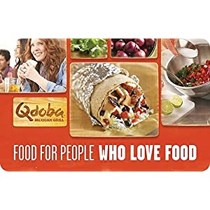 Qdoba Mexican Grill Gift Card