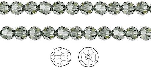 10 x Genuine SWAROVSKI Crystal 5000 ROUND Facet BEADS ~ 4mm 5mm 6mm ~