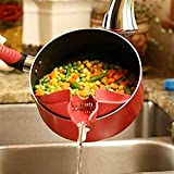 Lingedd Details About Silicone Pour Soup Funnel Kitchen Gadget Tools Water Deflector Cooking Tool