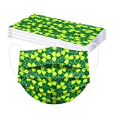 50PC St Patricks Day Disposable Face Mask For