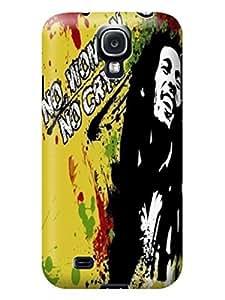 Cool Bob Marley fashionable Print Design for Samsung Galaxy s4 Hard Cover Durable Hard Plastic TPU