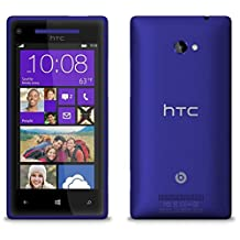 HTC 8X Windows 8 Unlocked Phone (8GB) - Blue Color International Version with Warranty