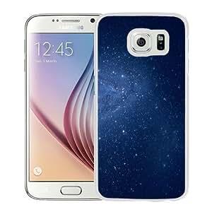 Fashionable Custom Designed Samsung Galaxy S6 Phone Case With Milky Way Galaxy Edge OS X Lion_White Phone Case Kimberly Kurzendoerfer