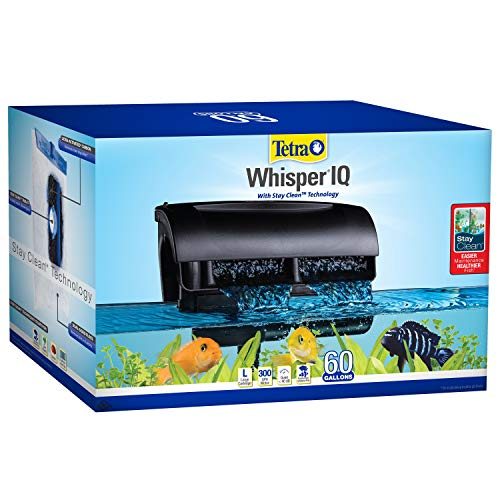Tetra 78004 Whisper IQ Power 60 Gallon Filter (Best Filter For 55 Gallon Aquarium)