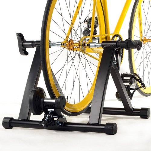Yaheetech Indoor Exercise Bicycle Cycle Bike Trainer Stand Magnetic Resistance Stationary by Yaheetech