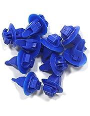 Tuqiang Coches Clips Remache de plastico Empuje Motor Guardabarros Sujetadores Clip de Retención 30 pcs 90904-67036