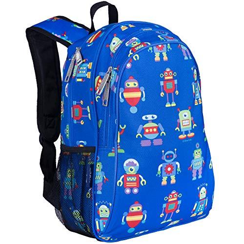 Wildkin 15 Inch Backpack, Robots