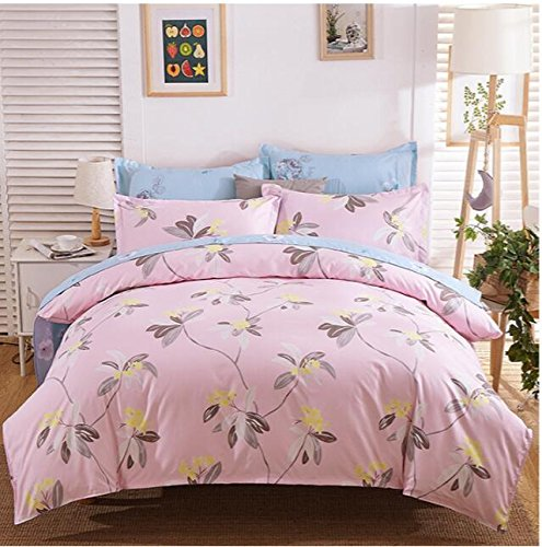 4PCS Butterfly Princess Bed Sets (Yellow) - 5