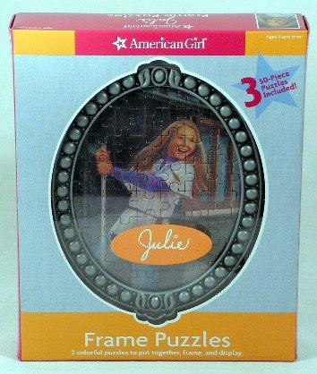 Amazon.com: American Girl Frame Puzzle ~ Julie: Toys & Games