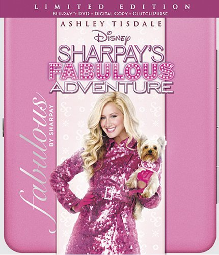 Sharpay's Fabulous Adventure (Three-Disc Blu-ray/DVD Combo/ Digital Copy + Limited Edition Clutch - Ashley Clutch