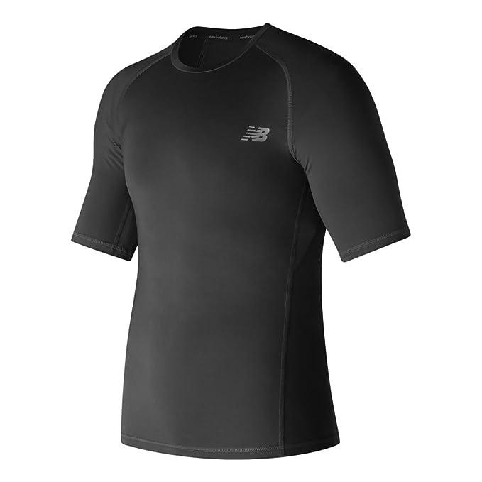 233ab2ffc8b34 Amazon.com: New Balance Men's Aeronamic Short Sleeve Compression ...