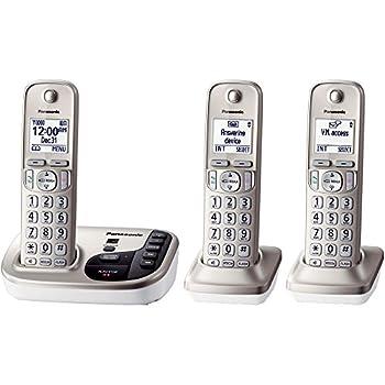 Panasonic Kx-tgd223n Dect 6.0 3-handset Landline Telephone 16