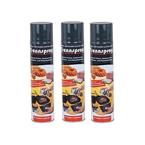 Boyens Trennspray 600ml Dose ( 3er Pack ) Trennfett Grillspray Backtrennmittel