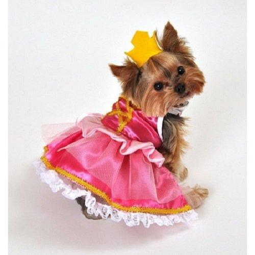 PetsRFriends Domestic Pet Happy Halloween Pink Princess Fairytale Dog (Fairy Princess Pet Halloween Costume)