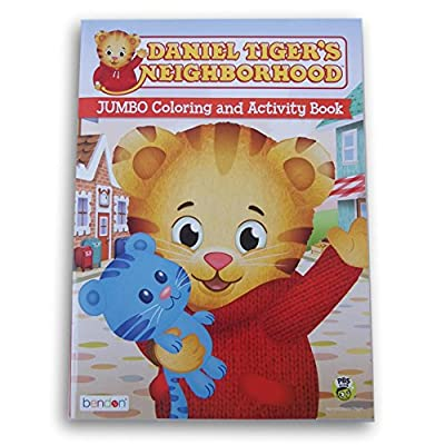 Daniel Tiger's Neighborhood Coloring and Activity Book - 47 Pages: Toys & Games